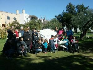 Els mecenes han visitat el taller d'en Manel Llaurador